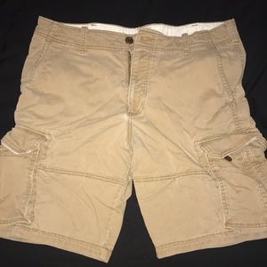 Men's hollister cargo shorts